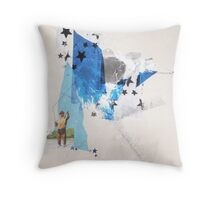 Youngest Champion Throw Pillow