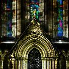 St Mary's Cathedral, Edinburgh, Scotland by Den McKervey