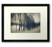 borderline Framed Print