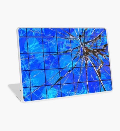 Break on Through - Blue Version Laptop Skin