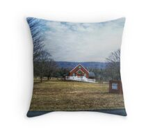 Fort Valley Church Of God Throw Pillow