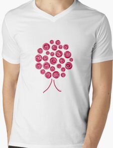 painting the roses red Mens V-Neck T-Shirt