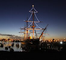 HMS Warrior by jo monck