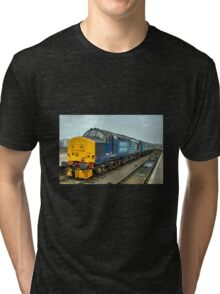 Yarmouth Tractor  Tri-blend T-Shirt