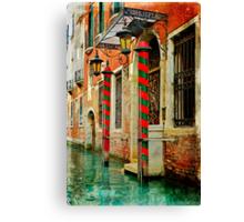 A Venetian Hotel  Canvas Print