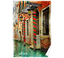 A Venetian Hotel  Poster