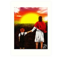 Abide By Me Father Art Print