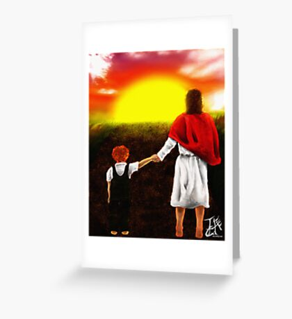 Abide By Me Father Greeting Card