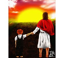 Abide By Me Father Photographic Print