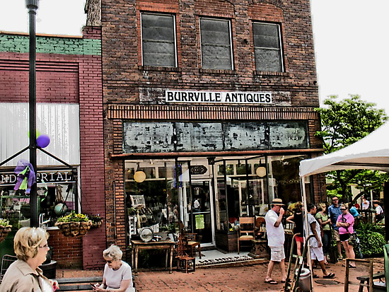 Burrville Antiques by © Bob Hall