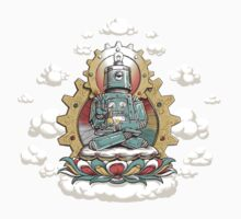 """Mr. Ohmz"" the Buddha Bot v6 One Piece - Long Sleeve"