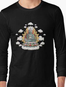 """""""Mr. Ohmz"""" the Buddha Bot v6 Long Sleeve T-Shirt"""