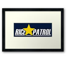 RICE★PATROL (New Age) Framed Print