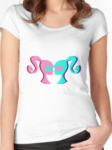 LOVE! Women's Fitted Scoop T-Shirt