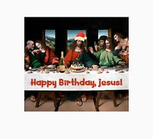 Happy Birthday, Jesus! Christmas Funny Theme T-Shirt