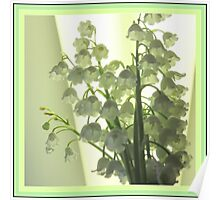 Mellow Lily Of The Valley Poster