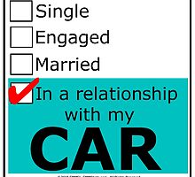 In A Relationship With My Car by cmmei