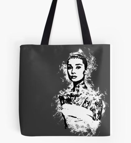 Aurdey Hip.burn Tote Bag