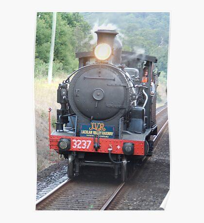 Vintage Steam Train, Coffs Harbour, NSW Poster
