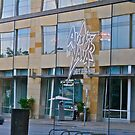 Austin Java Reflected on Lavaca Street -Austin - Texas by Jack McCabe