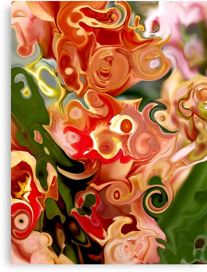 Flowers in Abstraction by joAnn lense