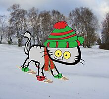 This Cat Loves Winter by JohnsCatzz