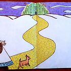 """Yellow Brick Road""-Sketchbook Project (Limited Edition) 2012 by Belinda Leopold"
