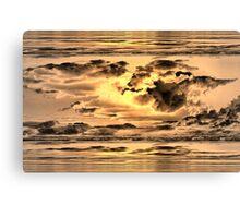 Golden Microburst Canvas Print