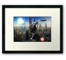 Attack in Dubai Framed Print
