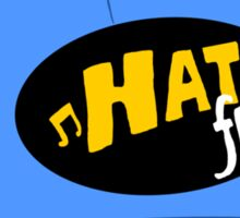 Hat FM Sticker
