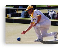 M.B.A. Bowler no. a255 Canvas Print