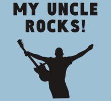 My Uncle Rocks Baby Tee