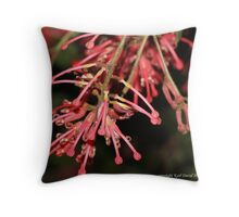 macro flora 022 Throw Pillow