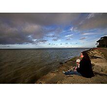 An Ocean View Photographic Print