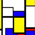 Piet Mondrian iPhone Case by Austin Kaplan