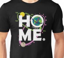 Home. Earth. Science. Unisex T-Shirt