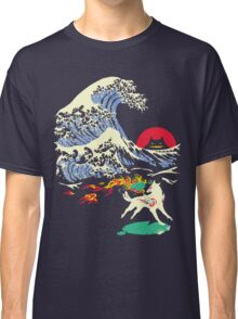 The Great Wave off Oni Island Classic T-Shirt