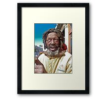butch in the light Framed Print