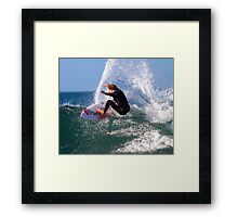 """Carving it Up"" Framed Print"