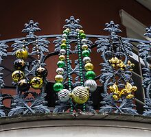 Balcony with Big Beads by GJKImages