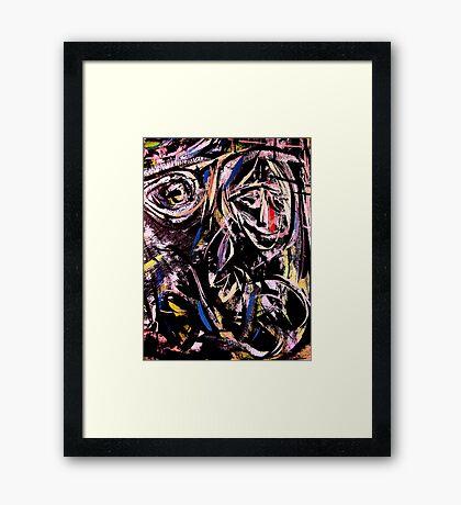eye on you.... Framed Print