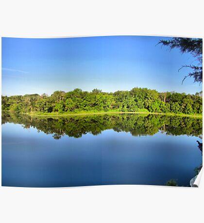 Lake Pickens - Herman Baker Park, Sherman, Texas, USA Poster