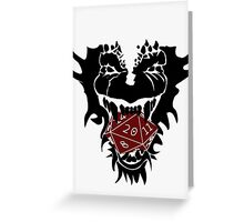 Dungeons and Dragons Greeting Card