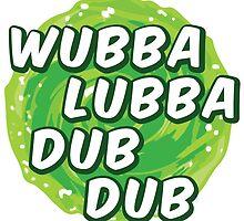 Wubbalubbadubdub by Federico Sironi