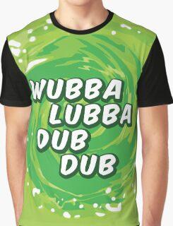 Wubbalubbadubdub Graphic T-Shirt