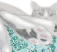 Personal portrait - just add pet Sticker
