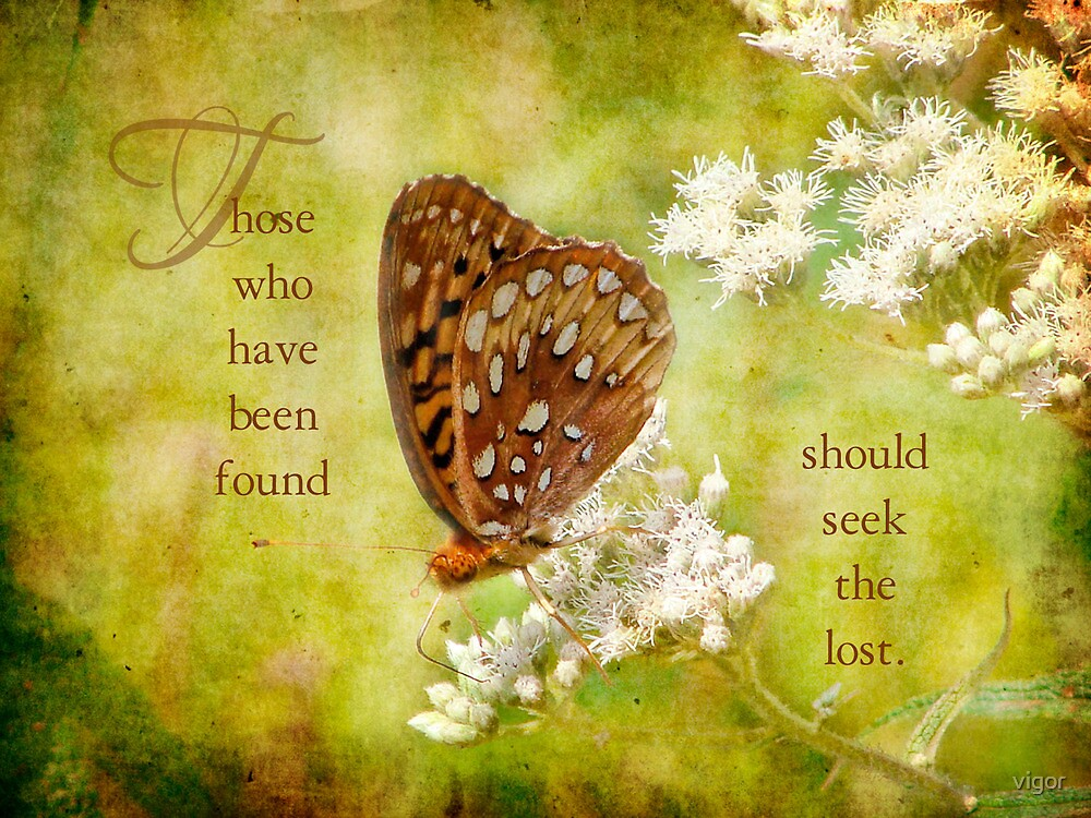 lost and found-inspirational by vigor