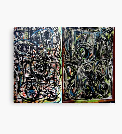 two paintings..... Canvas Print