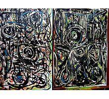 two paintings..... Photographic Print