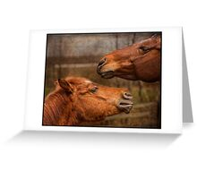 Trading Secrets Greeting Card